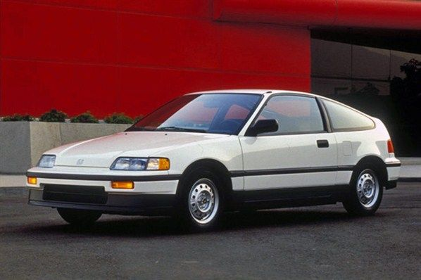 Honda Crx Early 90 S Young People