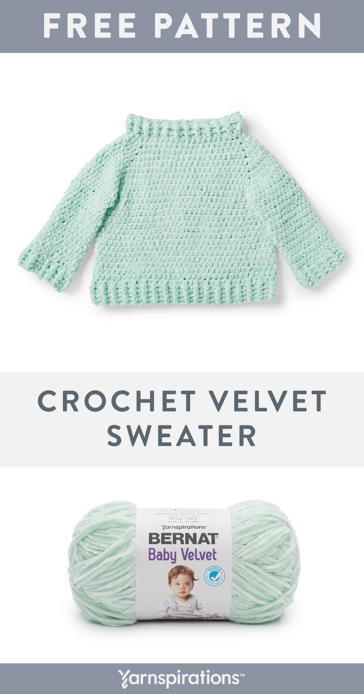 Bernat Baby Velvet Yarn Pattern | Super soft and stylish