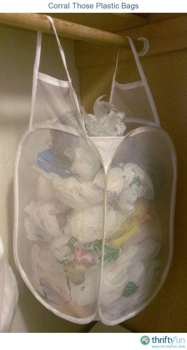 Corral Those Plastic Bags