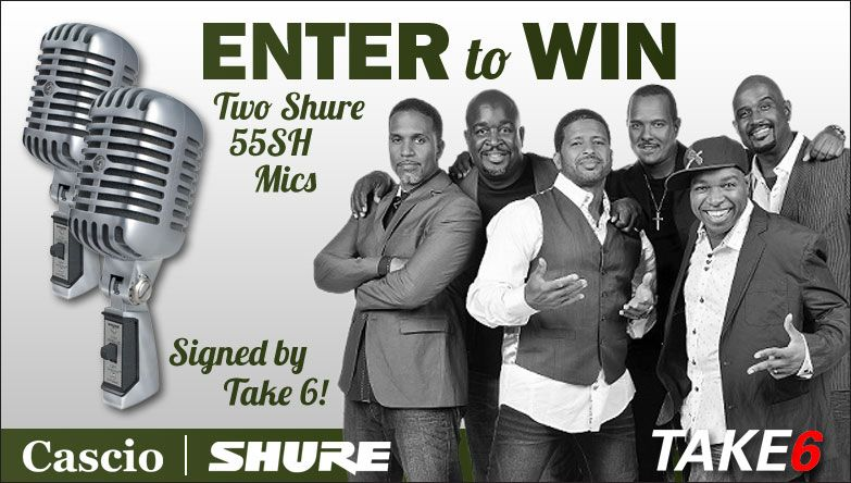 Shure Signed Microphones Giveaway