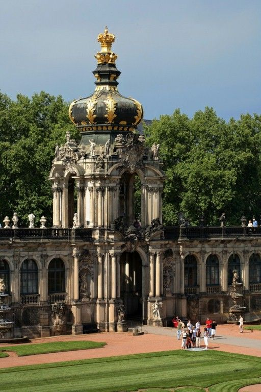 Zwinger Palace Dresden Dresden Germany Travel Destinations Beautiful Architecture