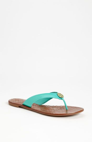 b1cd05d7f4a6 Can I wear flip flops to my ceremony  The color is right and it is a  cruise... Tory Burch  Thora 2  Sandal available at  Nordstrom