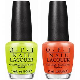 OPI Releases Six New Neon Nail Lacquers With Accompanying White Base Coat To Boost Bright Color