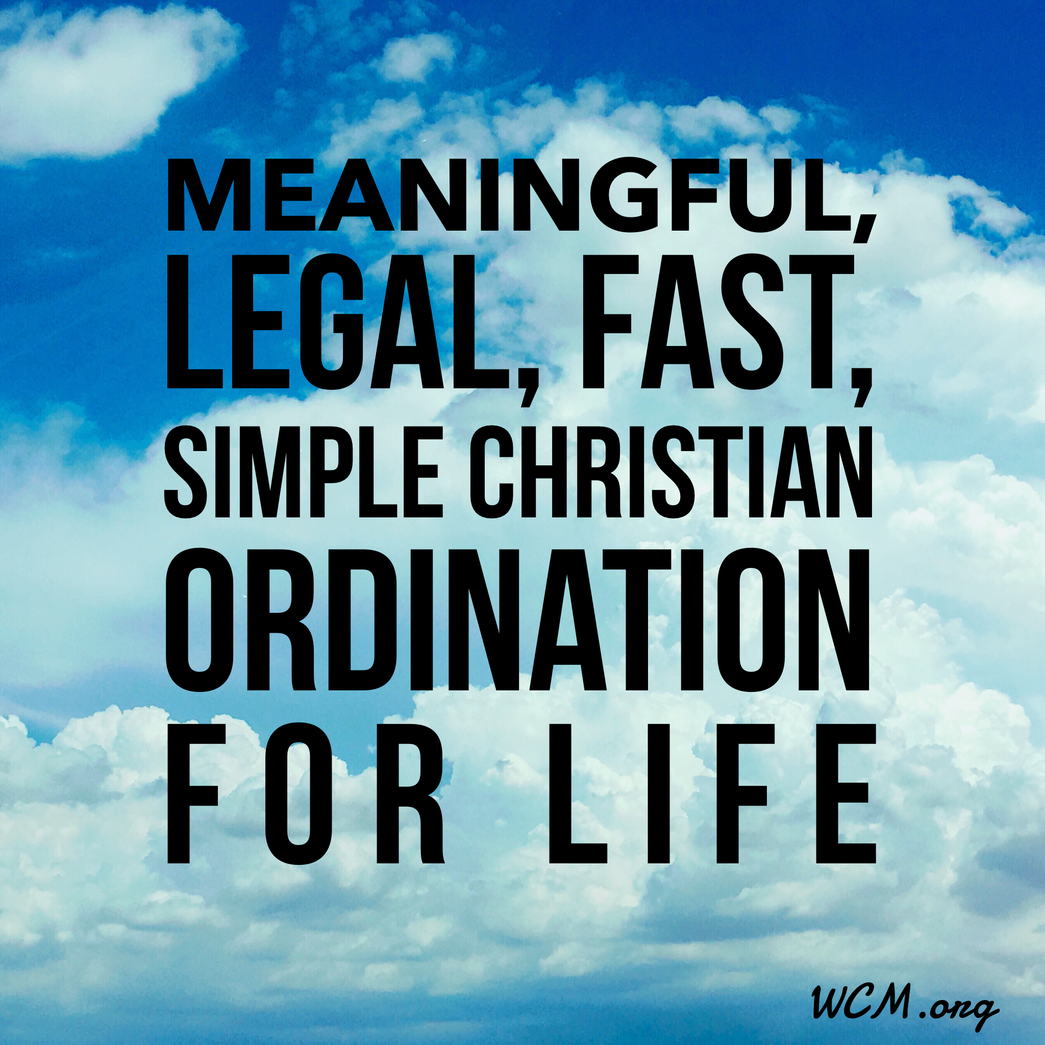 Ordination For Life Ordination Christian Faith Life