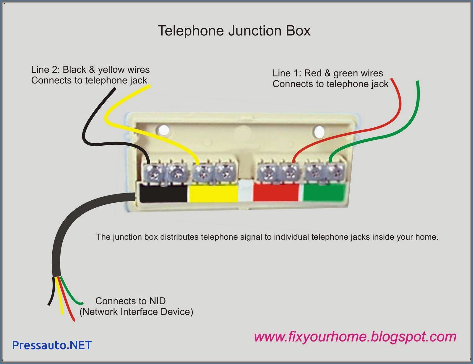 14 Good Phone Wiring Diagram For You