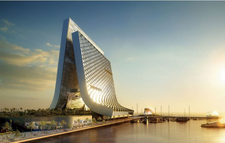 Marina and Beach Towers project Dubai
