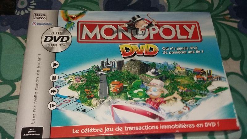 jeu Monopoly interactif avec DVD