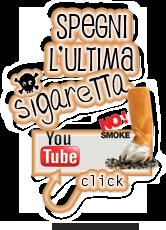 """Il 31 Maggio sarà la giornata contro il tabagismo, la giornata senza fumo.  Ho preparato un bollino per il web che cliccandolo conduce ad un video dal titolo """"Spegni l'ultima"""" che chiunque può prelevare ed inserire nel proprio blog"""