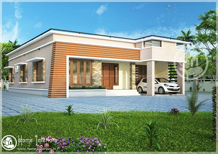 House Designs Single Floor Front Elevation Indian Story Flat Roof Shed Plans  | Elevation | Pinterest | Flat Roof, House And Interiors