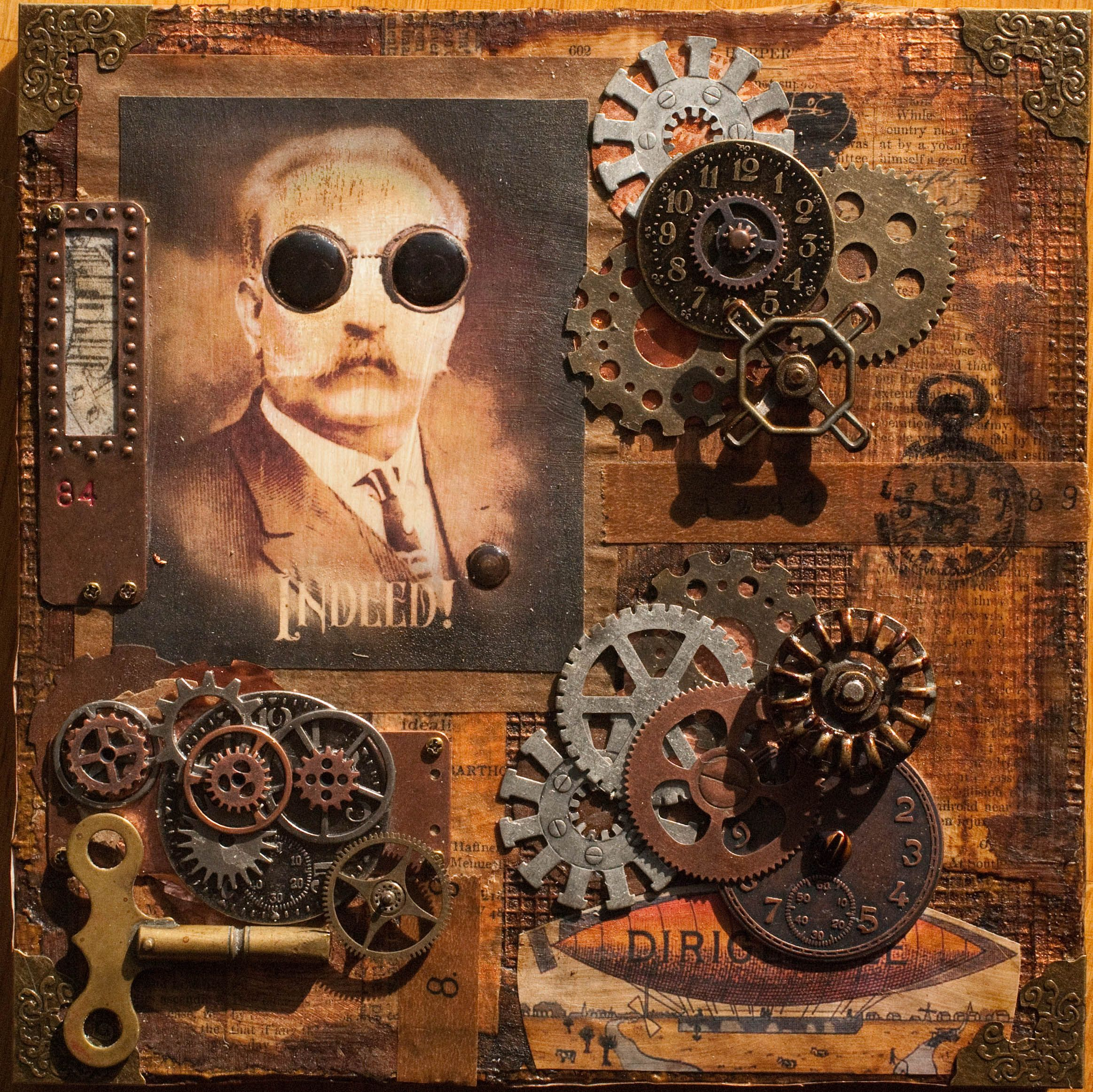 Steampunk Mixed Media Ideas