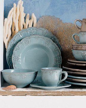 fleur de lis dish set | 20-Piece Fleur-de-Lis Dinnerware Service - traditional - dinnerware . & fleur de lis dish set | 20-Piece Fleur-de-Lis Dinnerware Service ...