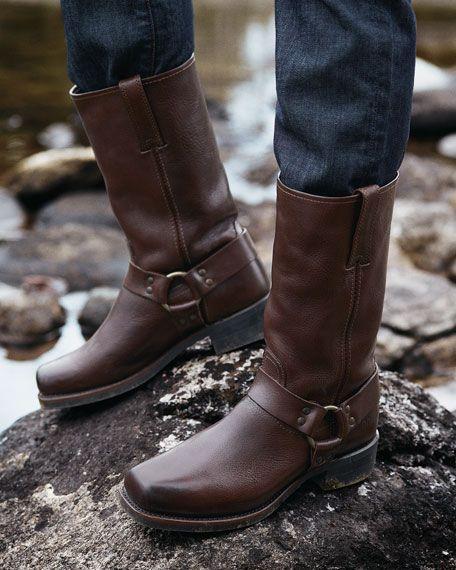 Frye laarzen heren Harness 12R bruin