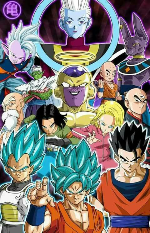 Univers 7 Dragon Ball Artwork Dragon Ball Super Anime Dragon Ball
