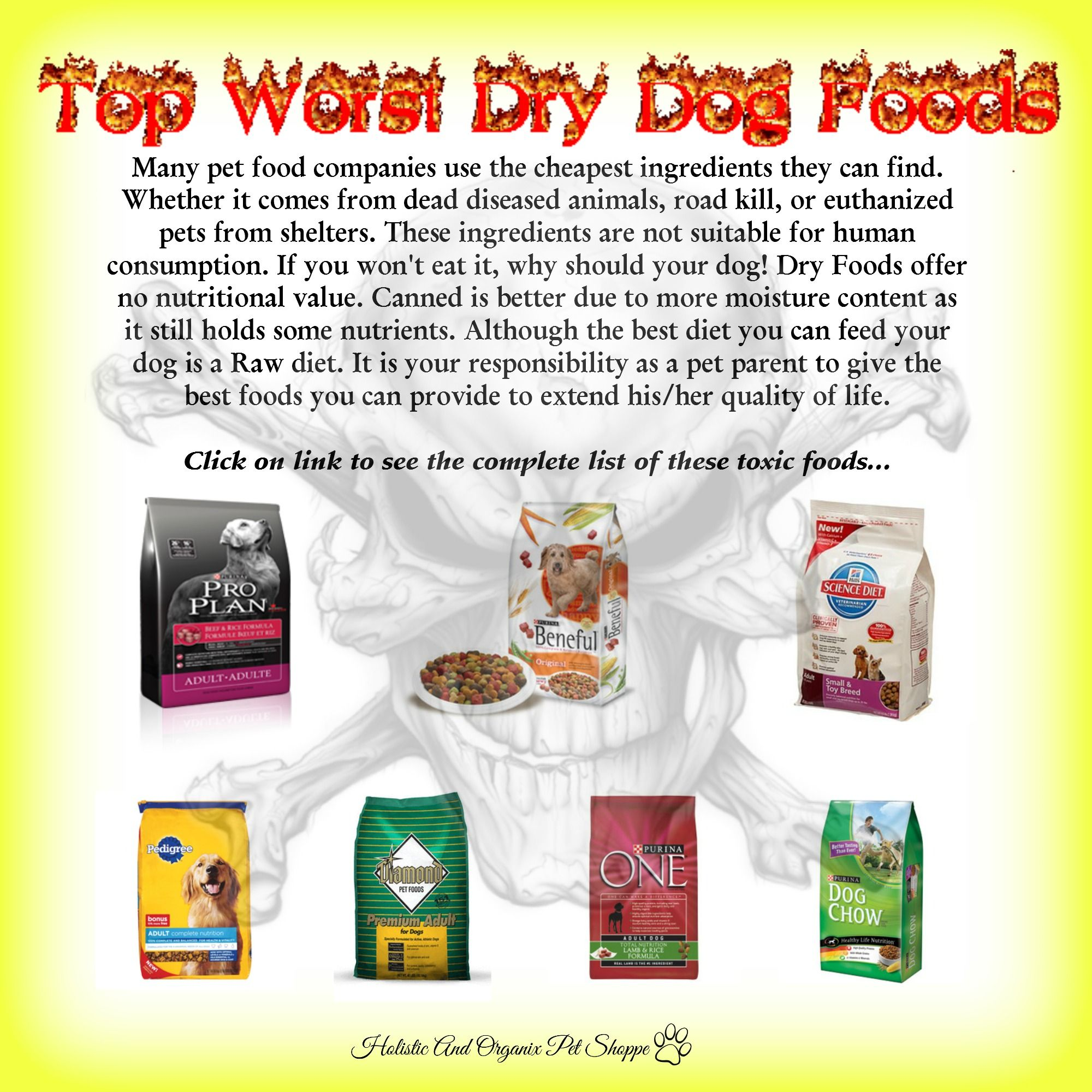 Top Worst Dog Foods 14 Newly Added Http Www