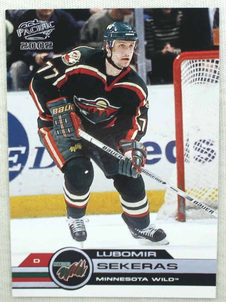 2002 Pacific Hockey Lubomir Sekeras 200 Minnesota Wild
