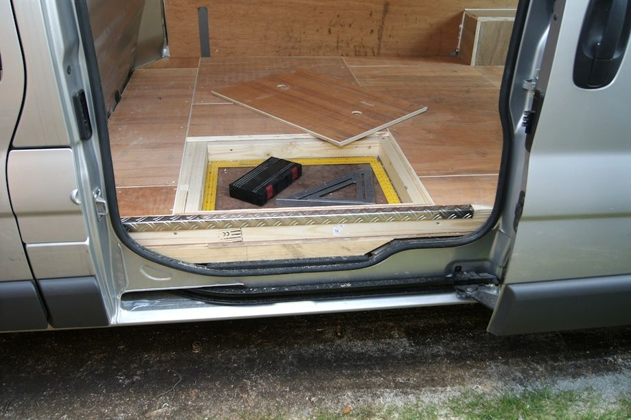 Wonderful Under Floor Van Storage Pallets Van Storage