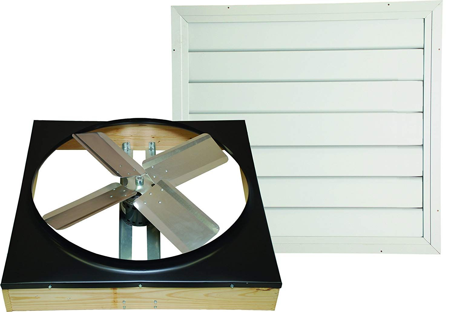 A Whole House Fan Not To Be Confused With An Attic Fan Is