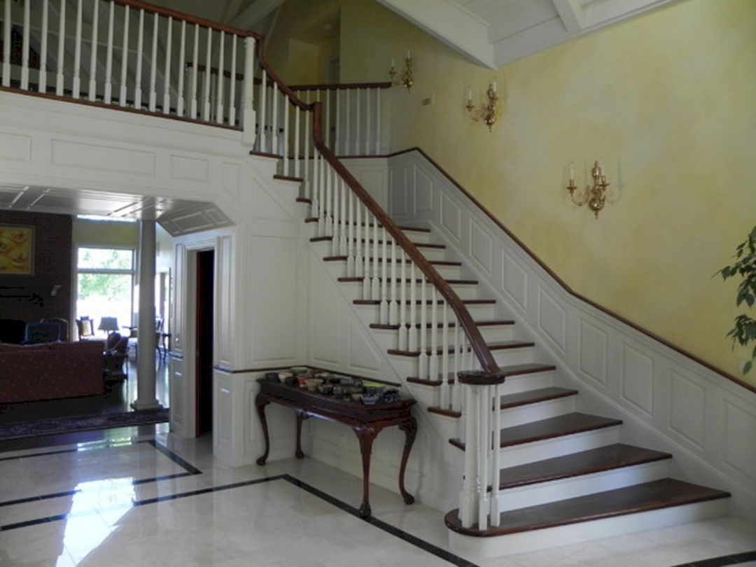 Superior 45+ Beautiful Stairway Decorating Ideas For Attractive Your Home
