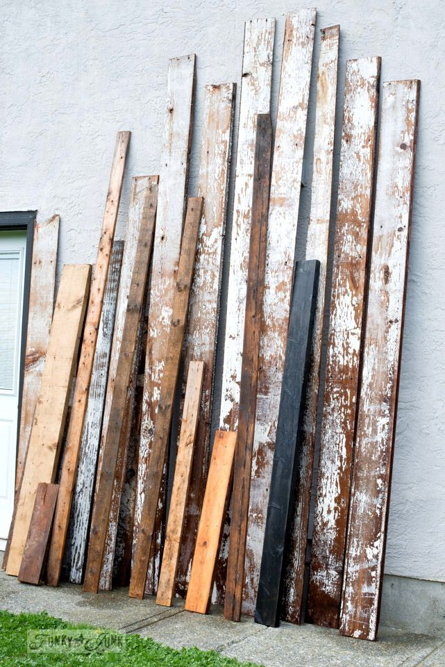 How to prep, clean and what to use to protect chippy barn wood! By ...