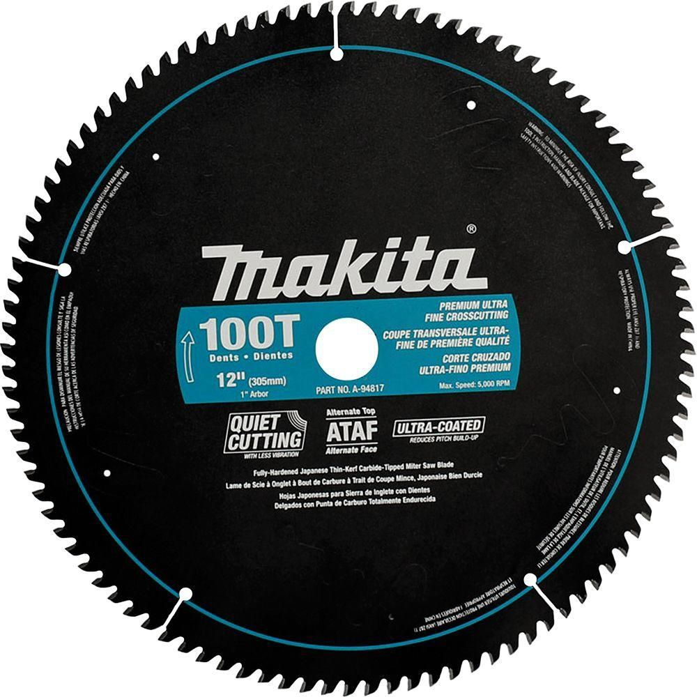 12 X 100t Ct Ataf Mitre Saw Blade Products In 2019 Circular Saw Blades Makita Saw Table Saw