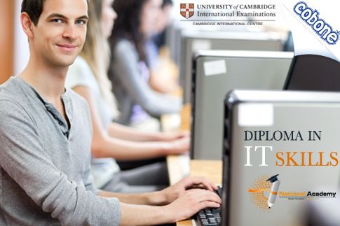Get a Cambridge International Diploma in IT with a 2-Month Course from National Academy for AED 549 and get a head start in this increasingly competitive market (Value AED 3000) – Includes study material, trainings and other learning resources!