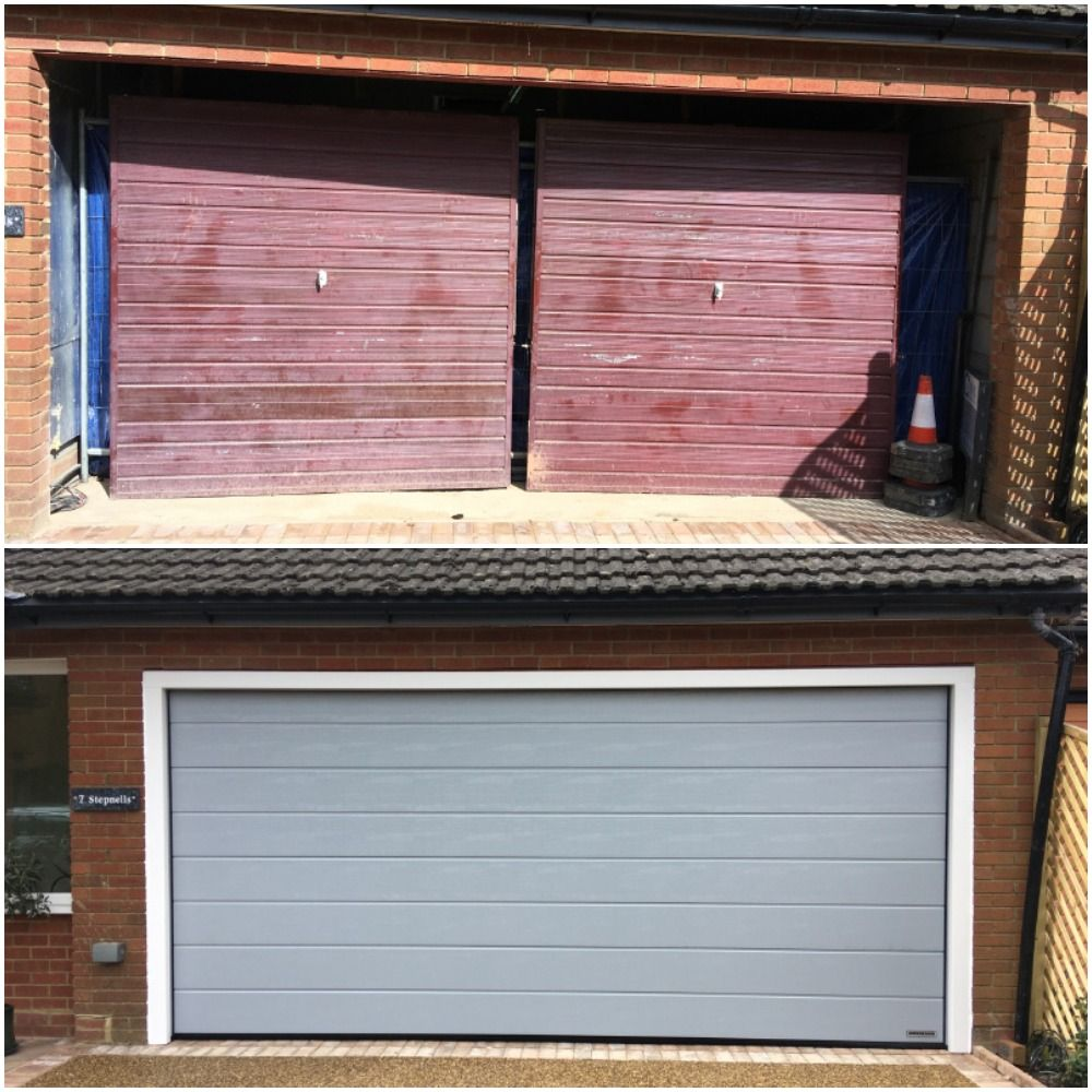 Amazing Transformation Of 2 Garage Doors Into A Very