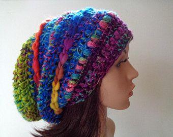 Crocheted slouchy hat  b86dd050dcd