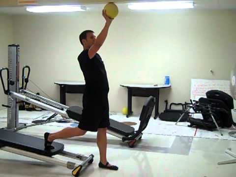 International Gravity Master Trainer Michael Steel Demonstrates A Total Gym Lower Body Exercise Series That Utilizes Total Gym Total Gym Workouts Body Training