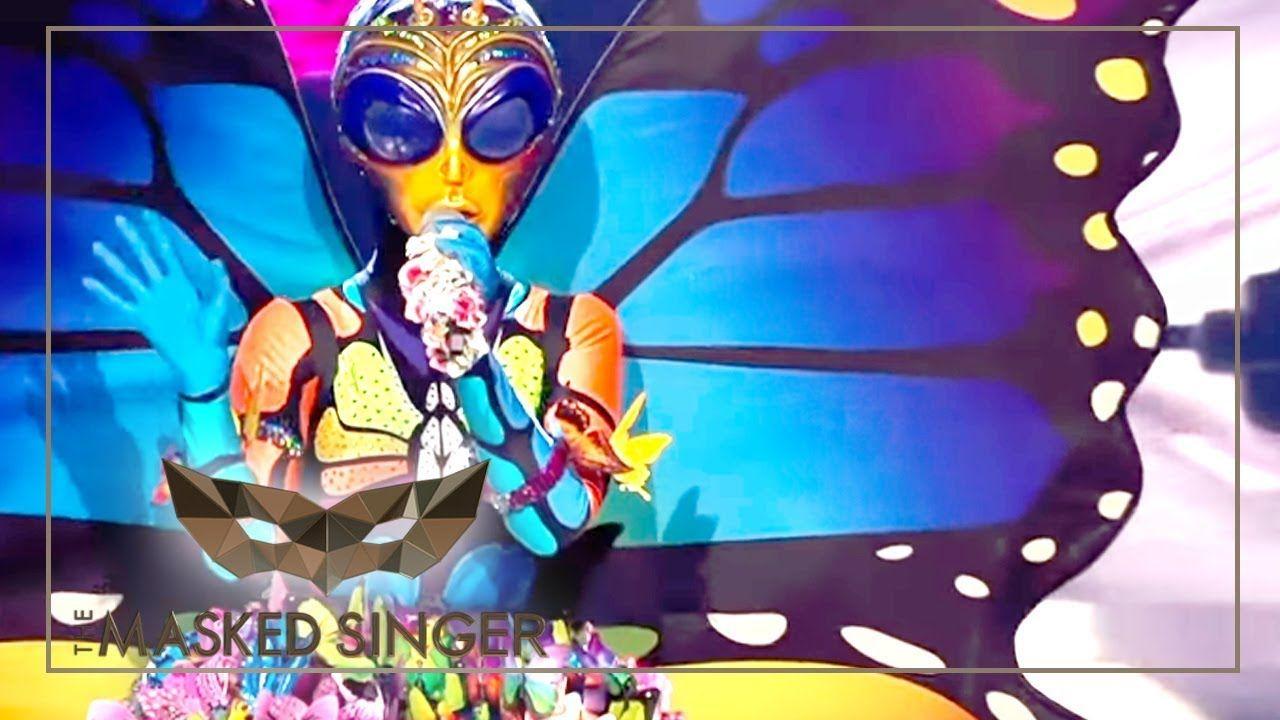 Schmetterling The Masked Singer