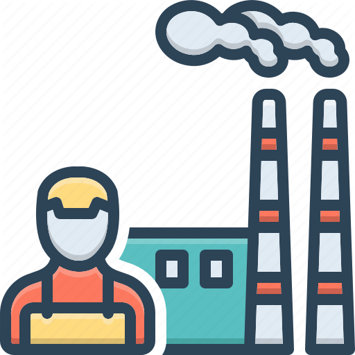 Chemical Factory Industry Manufacturing Plant Smoke Smokestack Icon Download On Iconfinder Chemical Manufacturing Icon