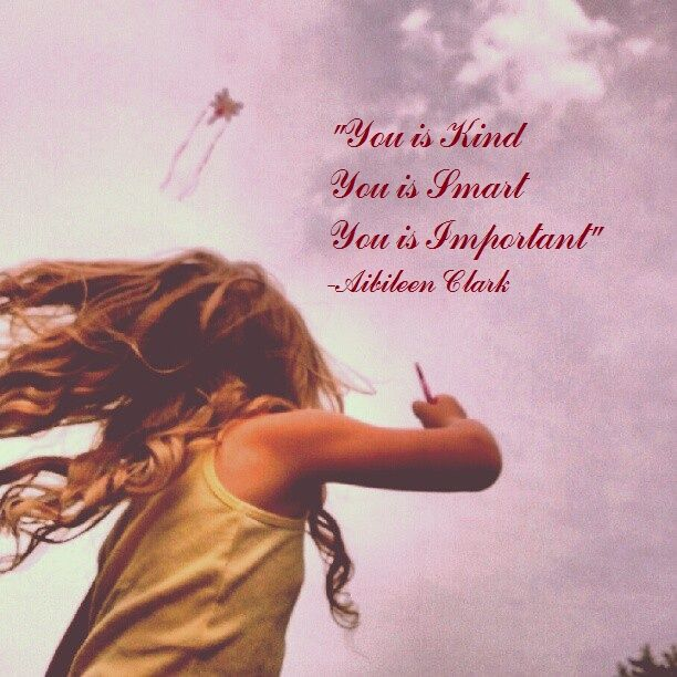 My daughter flying her kite. .. Love this quote too