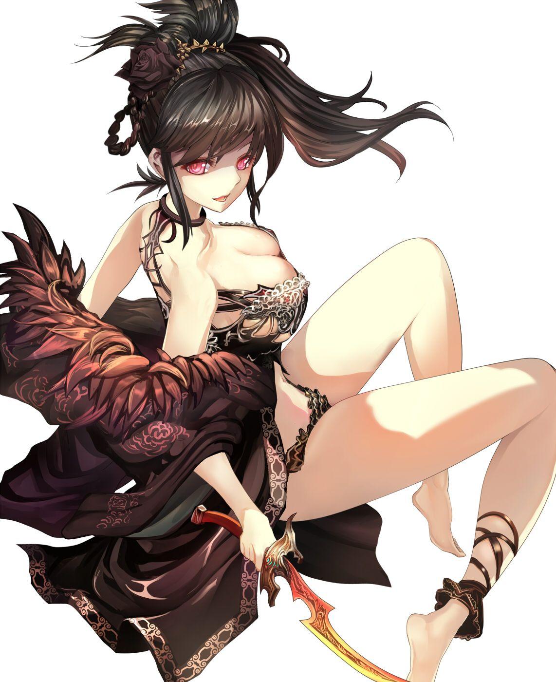 Aside! Anime bare breast seems