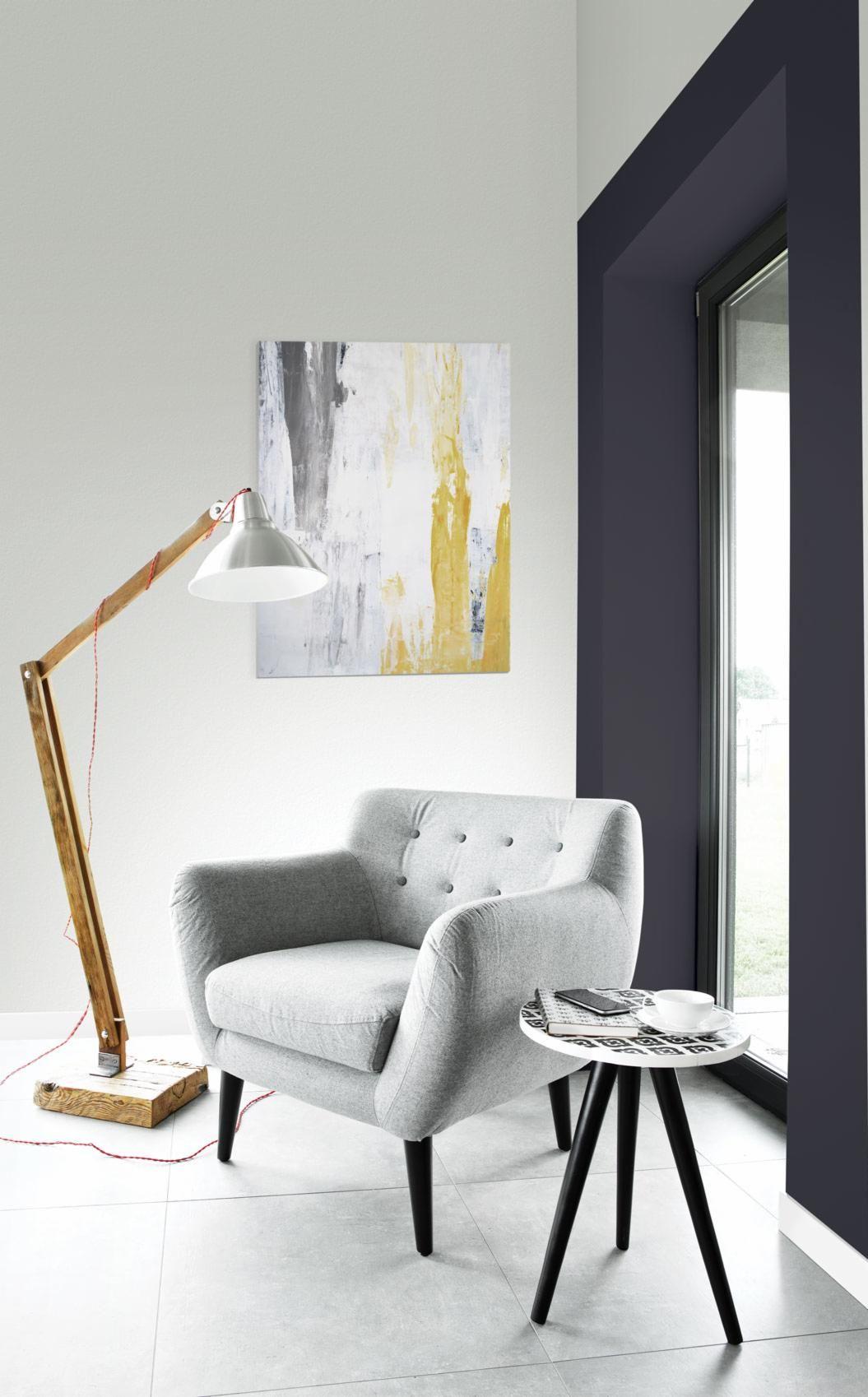 peinture sico la teinte fonte est la couleur de l 39 ann e sico 2018 appliqu e ici dans un. Black Bedroom Furniture Sets. Home Design Ideas