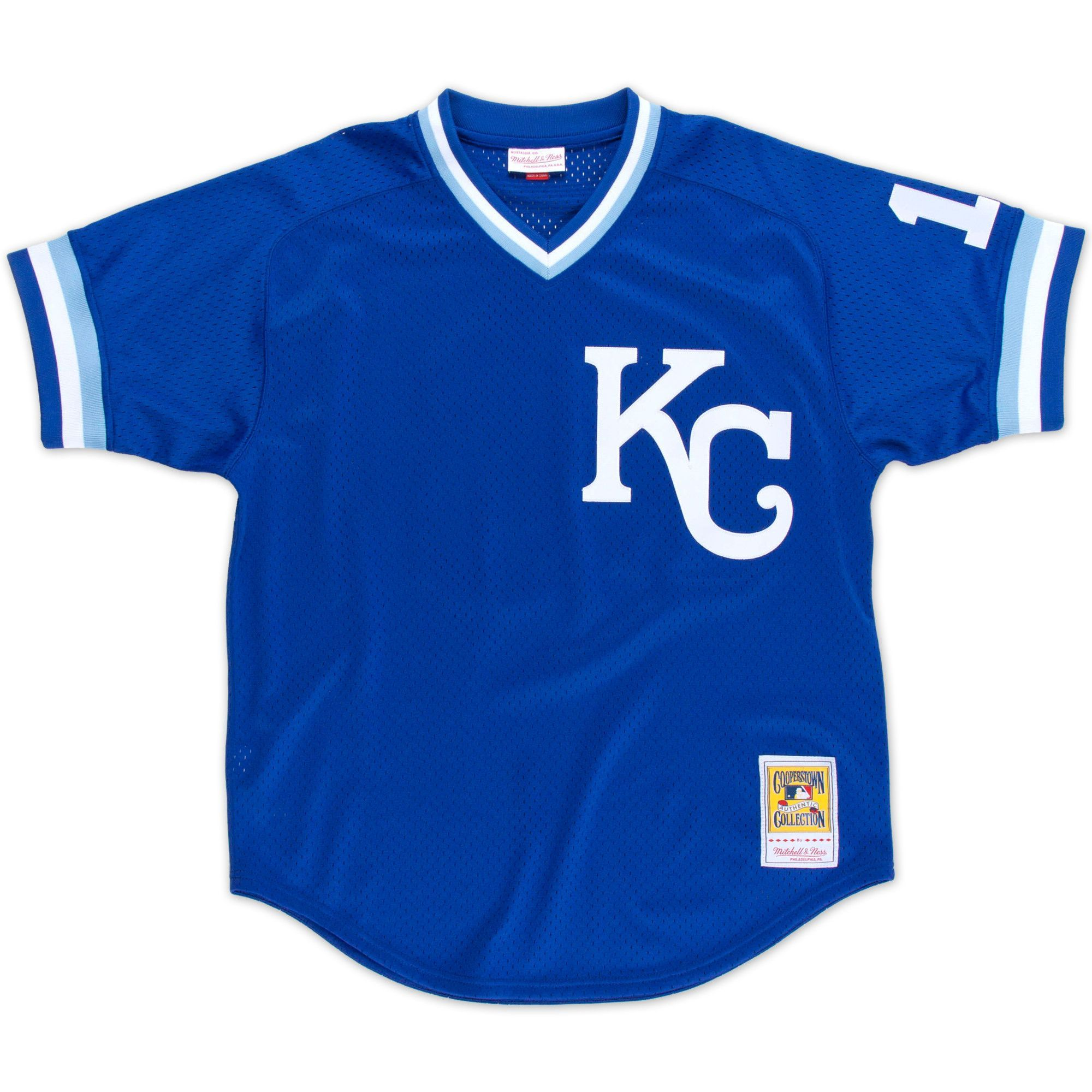 Mitchell & Ness Kansas City Royals Brett Batting