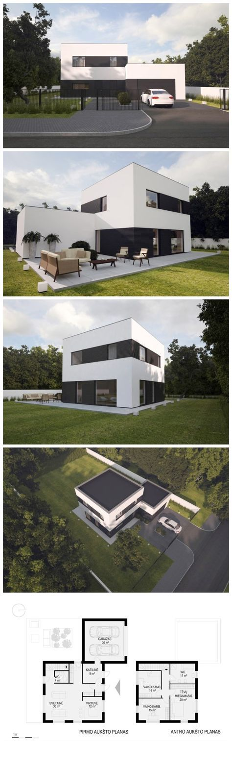 Flat Roof · Cube By NG Archithects