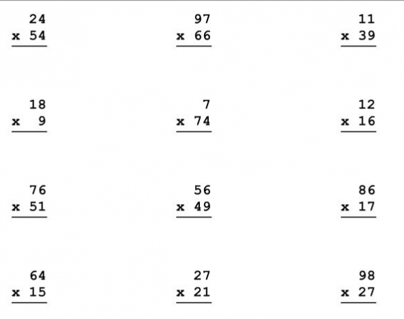 Customize Multiplication Worksheets Stuff to Buy – Hard Multiplication Worksheets