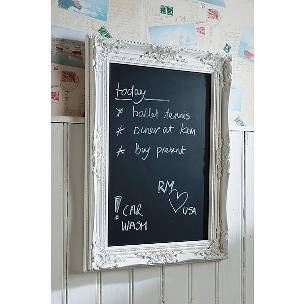 Wehkamp Riviera Maison.Riviera Maison Krijtbord French Blackboard 75x55 Cm