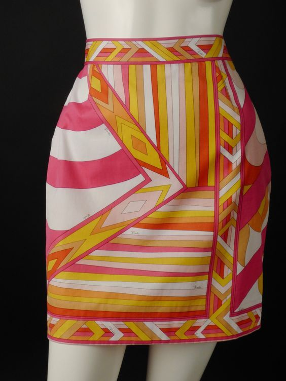 Image result for 1990s pucci skirt
