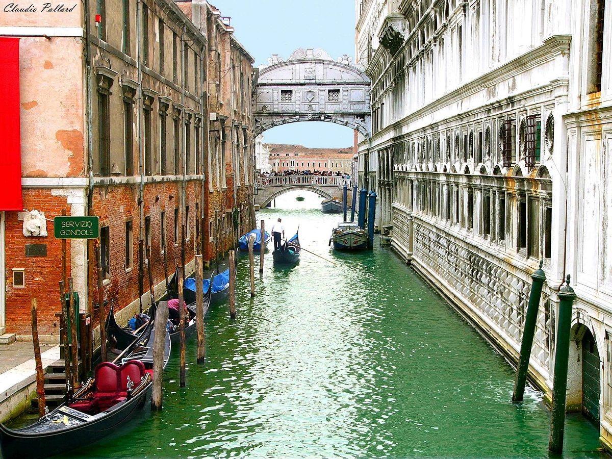 Puente De Los Suspiros Venecia Venecia Puente De Los Suspiros Viajes