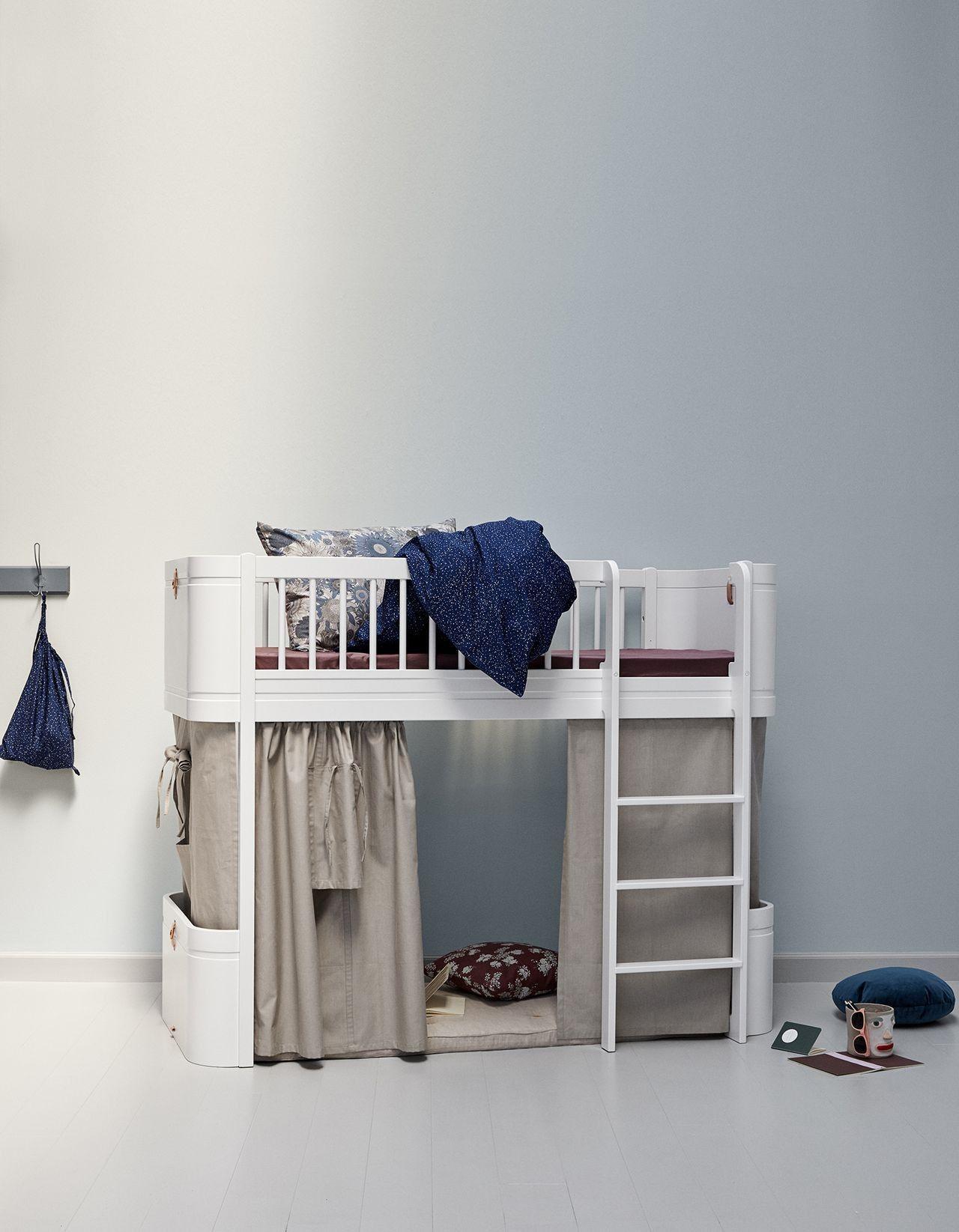 Oliver Furniture Vorhang für Halbhohes Hochbett Wood Mini+
