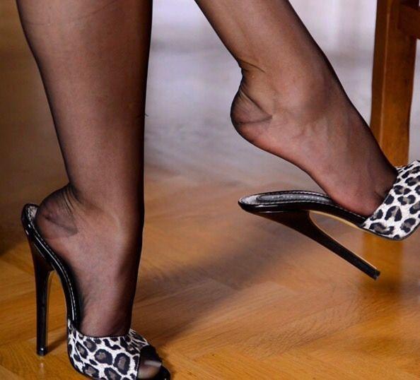 Sexy High Heel Pantoletten