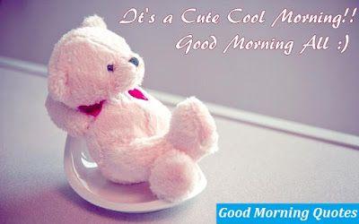 Cute Teddy Good Morning Hd Wallpaper Desktop Good Morning Wallpapers