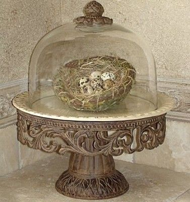 GG Collection Cake Pedestal with glass dome. & ugly cake stand but a super neat display idea. | DIY \u0026 Crafts ...