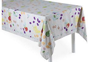 Les Fruits Cotton Tablecloth