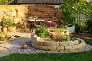 gartengestaltung ideen | Mediterraner Garten | Garten Ideen ...