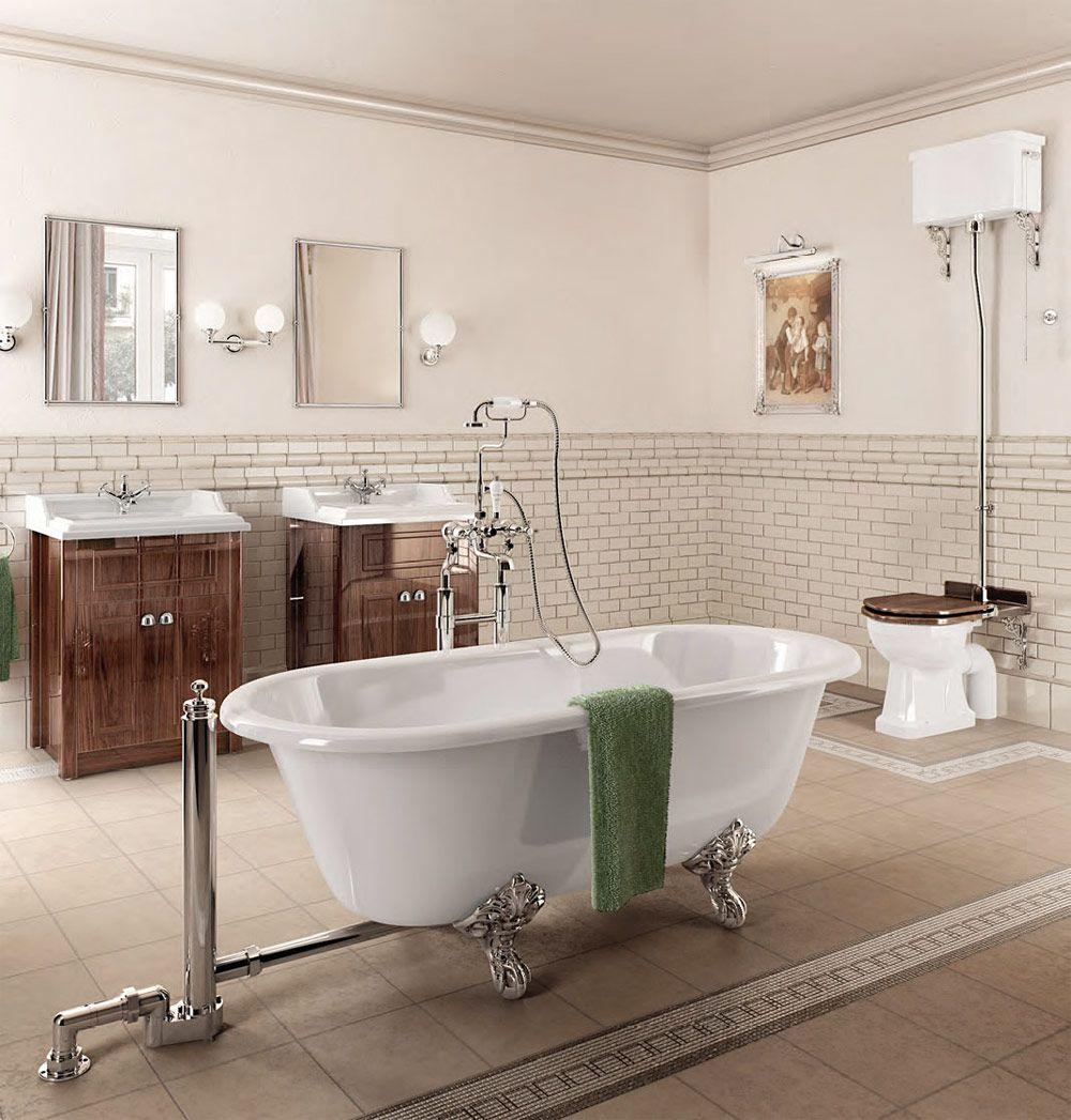 13 vackra badrum i viktoriansk stil | Badrum, Rustik och Elegant