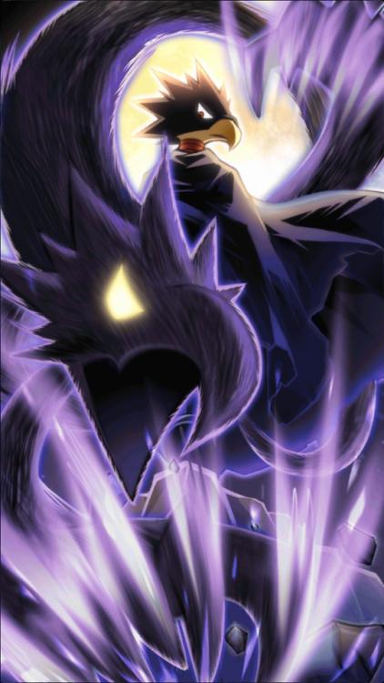 Fumikage Tokoyami Dark Shadow My Hero Academia My Hero Art Album Hero Wallpaper