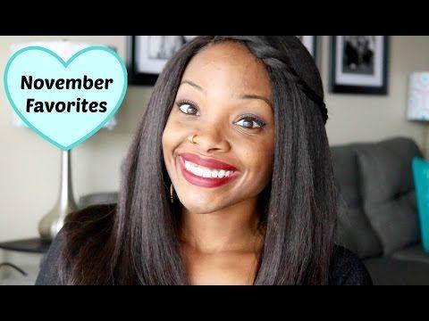 November Favorites | 2015 - YouTube