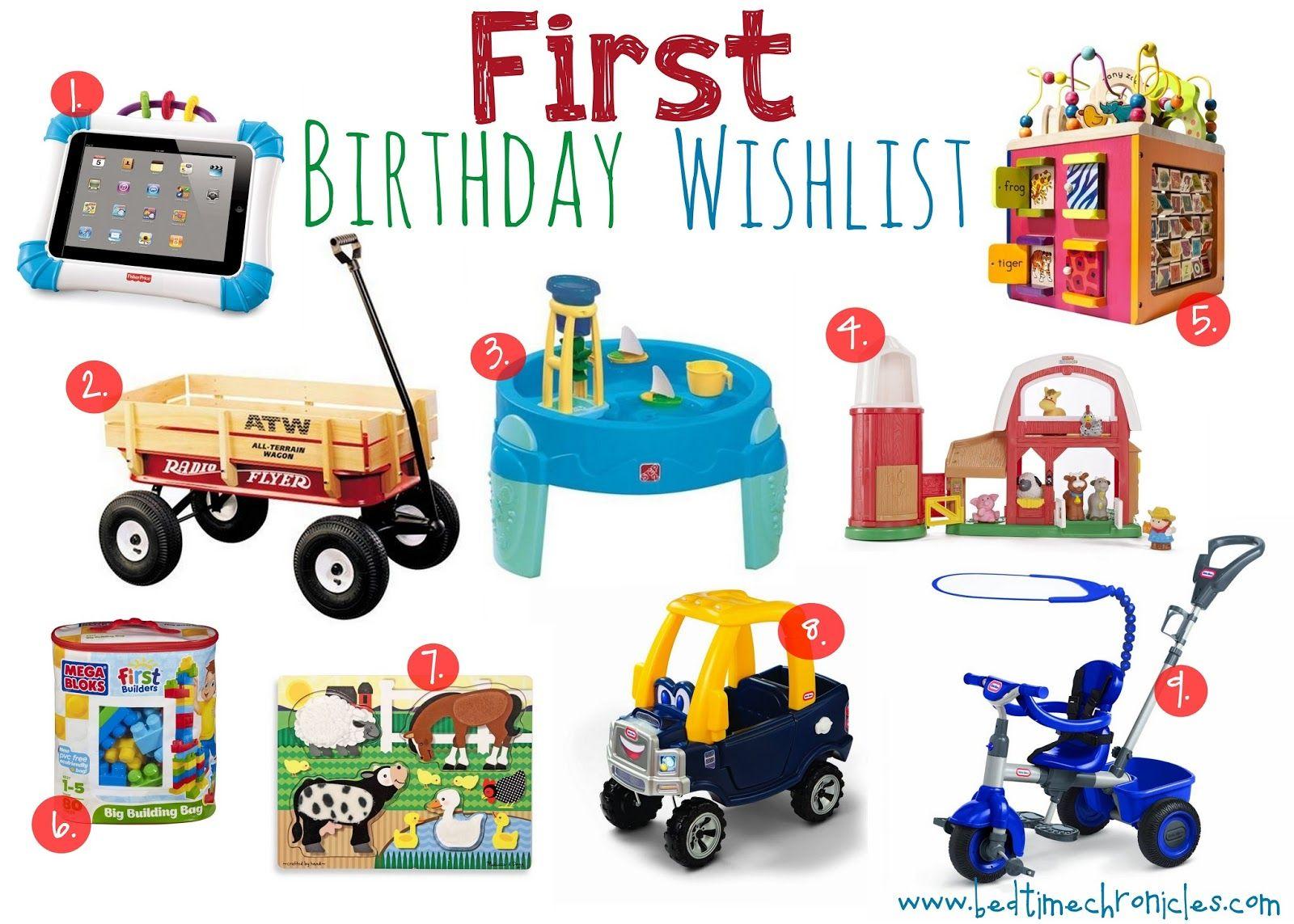 Birthday First Birthday Wishlist First Birthdays Birthday Wishlist First Birthday Presents