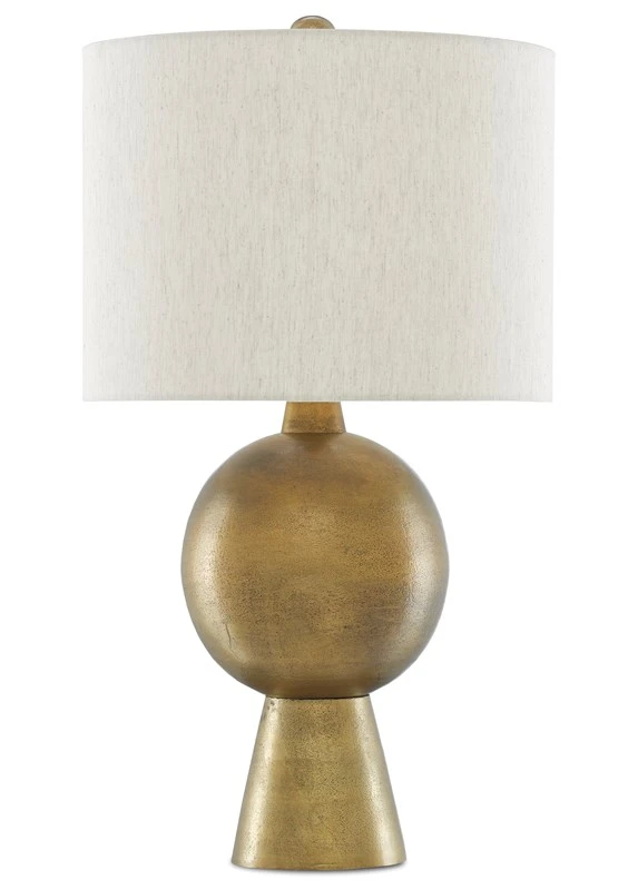 Currey And Company Rami Brass Table Lamp Brass Table Table Lamp Small Table Lamp